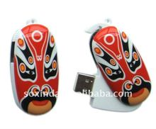 2011 New style promotional Cool Opera Face USB flash driver