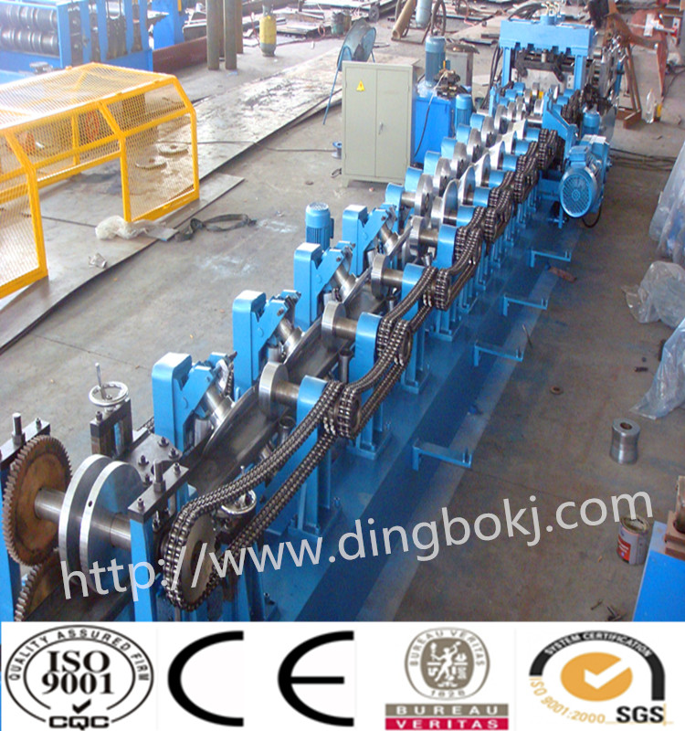 Z Purlin Roll Forming Machine used in Steel Structure Buildings