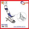 Professional Wheel Aluminum Alloy Stair Stretcher Hospital Medical Stretcher Immobilization Spine Board