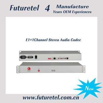 E1+1Channel all data sheet of Stereo audio codec