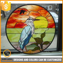coloful wholesale stained glass birds