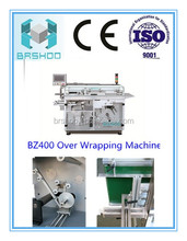 BRSHOO BZ400 Over Packaging Machine/Strech wrapping machine for bottles bags capsules