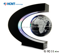 magnetic floating illuminated rotating ancient globe