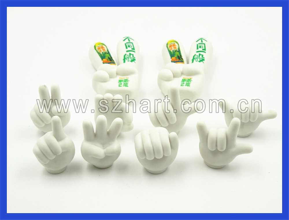"""YES"" shaped rubber eraser ,novelty eraser for children"