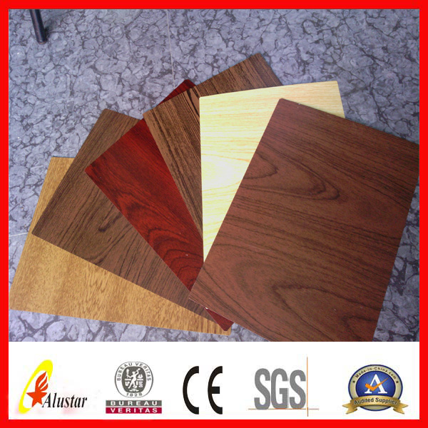 special coil coated steel / wooden pattern ppgi for flooring plate