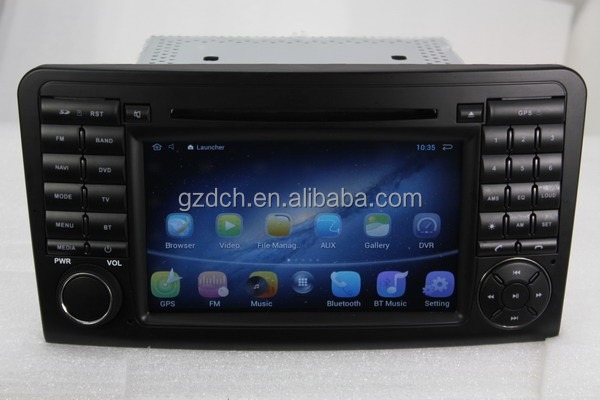 4.4.4 android auto dvd for Mercedes ML GL class <strong>W164</strong> GL320 GL350 GL420 GL450G L500 1024*600 1G+16G WS-8823