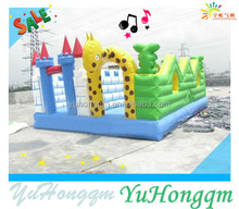 Best Inflatable Supllier Inflatable Giraffe Fun City Inflatable Amusement Park For Garden Payground