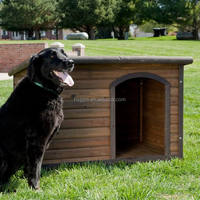 outdoor wooden large dog cage for sale