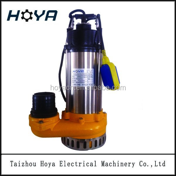 V2200F electric water pump price sewage water submersible pumps