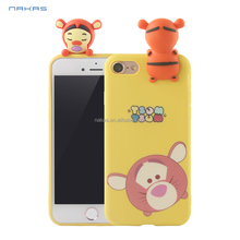 Cartoon Squishy 3D Phone Cases For Phone Lovely Soft Silicone Back Cover Cute TPU Cover