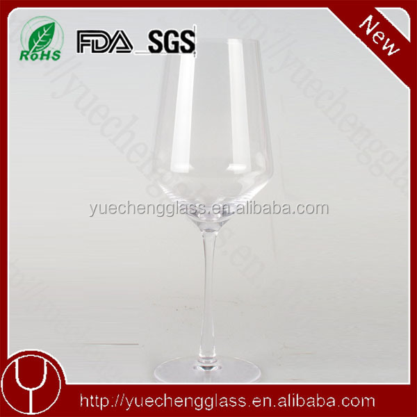 y118-005 hot sale long stem lead free crystal glass brands new