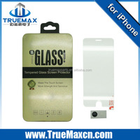 High transparent phone Glass screen protector for iPhone 6, HOT
