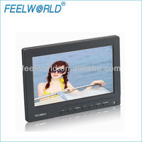 7 tft lcd car headrest dvd lcd display monitor with hdmi input
