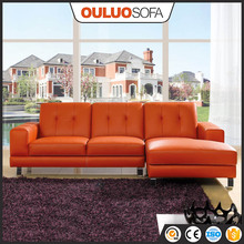 Shenzhen Sofa Furniture Leather Corner Sofa Set For Heavy People