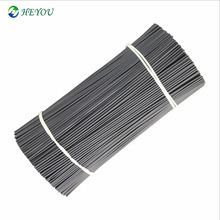 Plastic coated twist wire tie 0.55mm galvanized wire 1.0mm after <strong>pvc</strong> coated round shape kiwi fruit tied branches