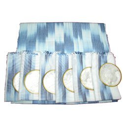 Ikat Luncheon Set