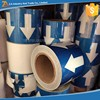 Vinyl Pipe Marking Arrow Tape/ Self-Adhesive Directional Flow Arrow Pipe Tape