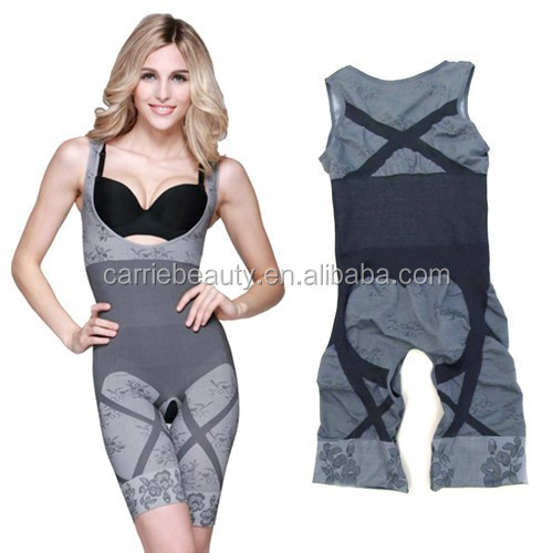 Bamboo Charcoal Fiber NEW LADY SEXY WOMENS Shapewear UndERweAr Slimming Animal Print Bodysuit