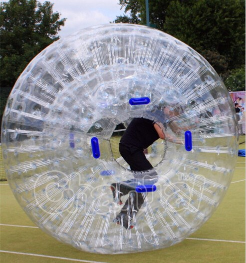 High quality inflatable zorb ball, inflatable ground zorb ball, human hamster ball for sale