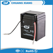 Wholesale made in China 12V 2.5ah Motorcycle Battery