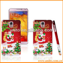 christmas design cell phone cover case,for galaxy note 3 christmas case