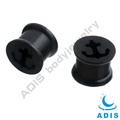 soft silicone plugs hollow inside newest piercings ear plug jewelry