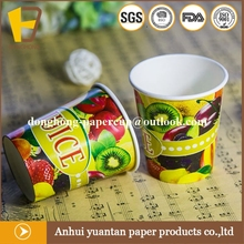 Eco friendly stocked low price keep drinks cold paper cup