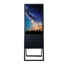 New design 43 inch Android Wifi LAN 3G LCD advertising screen portable digital signage video player with free CMS