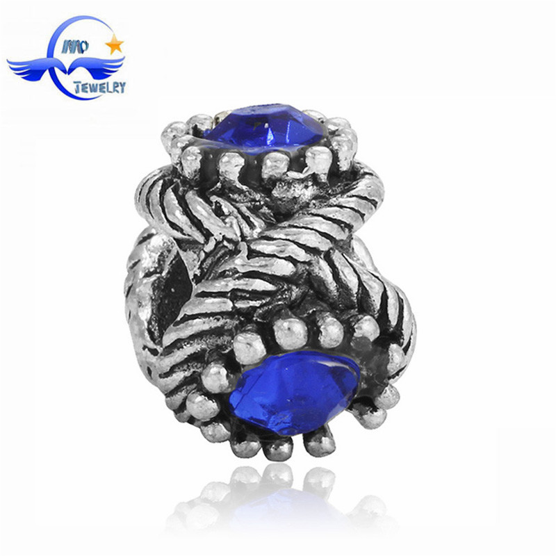 Free bead catalogs Jewelry European Style Large Hole Beads Crystal Wholesaler Beads and Findings