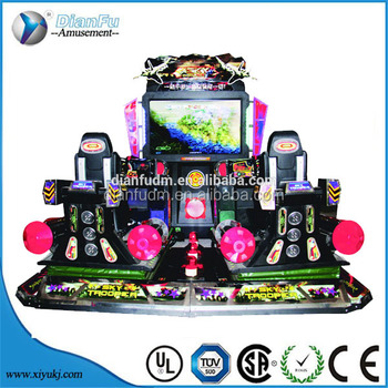 dianfu amusement new sky trooper games car simulator game machine cheap good quality on /for sale