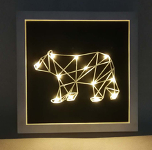 3d Night lamp acrylic LED lamp new peculiar cartoon frame light reading lamp Factory Outlets