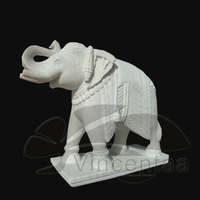Hot Sale Antique Marble Elephant Statues with Experienced Factory