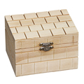square China best deco of home garden wooden box for business