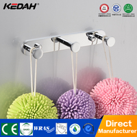 hot sale brasss new design bathroom bag hanger