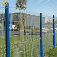 Factory Customized Welded PVC Coated Metal Mesh Fence Panel