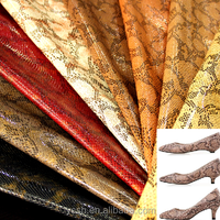 Wholesale Faux Leather Fabric Snake Pattern