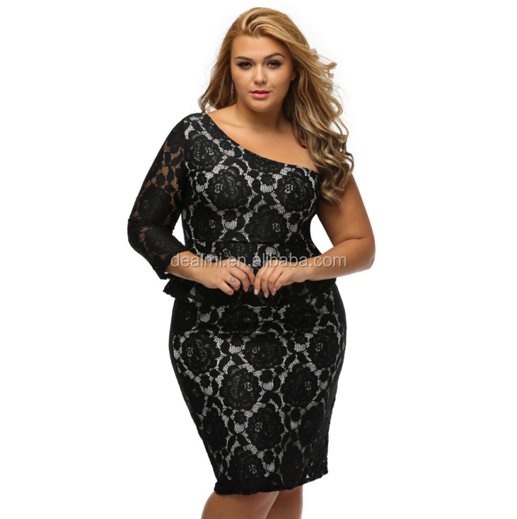 DMlqk327----summer women fashion lace hollow out long sleeve boutique dresses