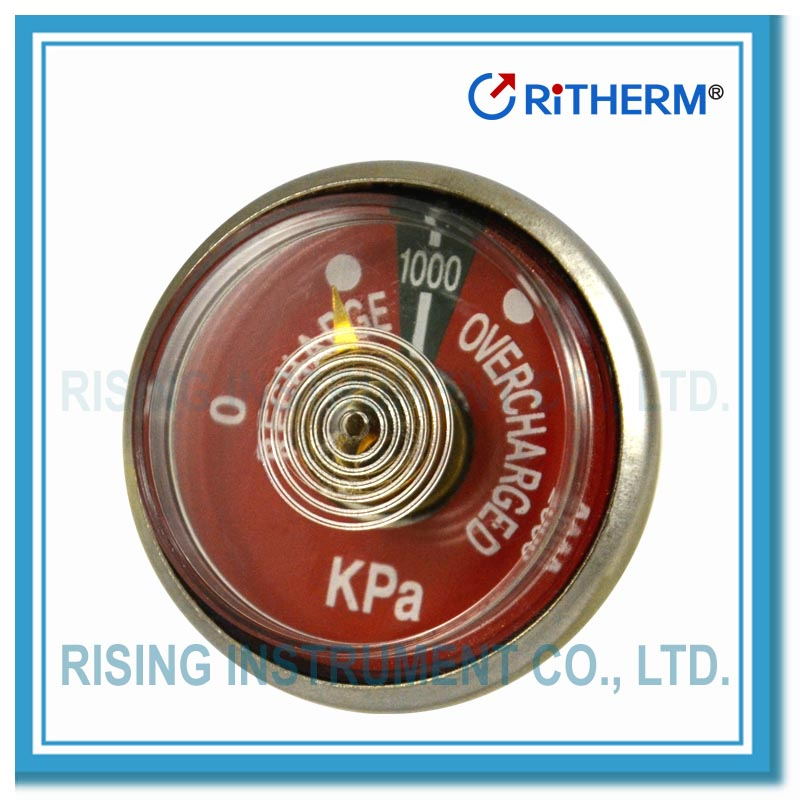 (1187A037) Pressure gauge for fire extinguisher