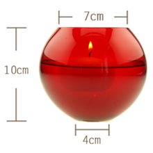low price color ball candlestick,bar using decorations candle holder