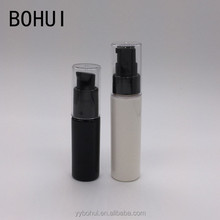 Hot sale PET plastic lotion bottle 50ml with treatment pump for cosmetic promotion