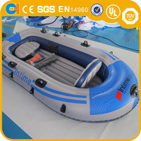 Cheap Inflatable Swimming Pool Paddle Boat for kids , Electrically Powered Paddle Boat for Kids