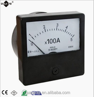China panel meter manufacturer Ammeter analog panel meter AC ampere meter