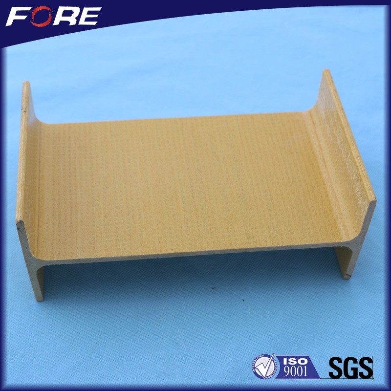China manufacturing corrosion resistant Fiberglass structural beams