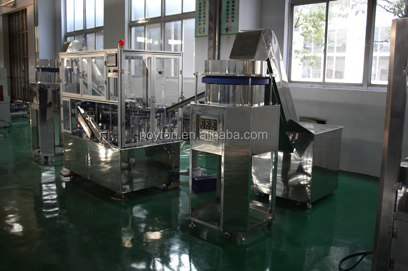 Auto disposable syringe assembly production line