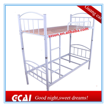 Cheap metal frame double bed pink bunk bed adult steel bunk bed