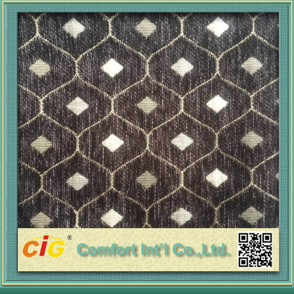 Newly-designed Home Upholstery Fabric with 100% Polyester