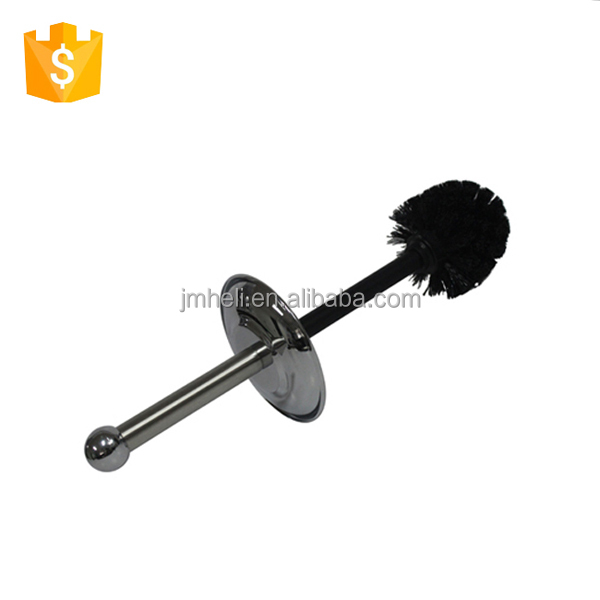 Mirror finish/polish Unique Toilet Bowl Brush with cover and holder