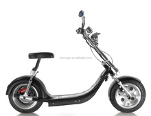 China newest model electric chopper motorcycle 60v elektrik mobility golf scooter 1000w 1500w