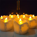 Flameless Feature Yellow Flickering Mini Led Candle Light For Home Decoration
