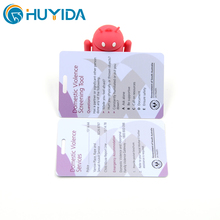 Top Selling Plastic Custom Printing Phone Gift Scratch Prepaid Card